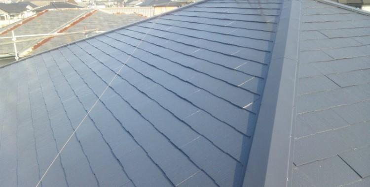 屋根塗装の施工例 糸島市 M様邸