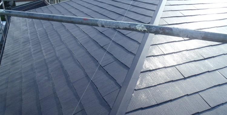 屋根塗装の施工例 糟屋郡篠栗町 Y様邸