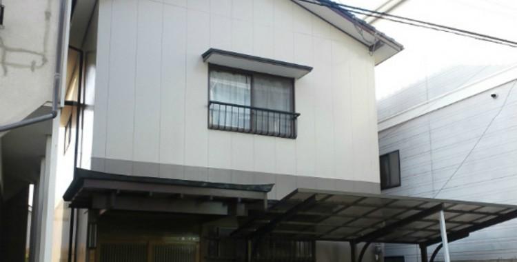 外壁塗装の施工例 大牟田市 T様邸