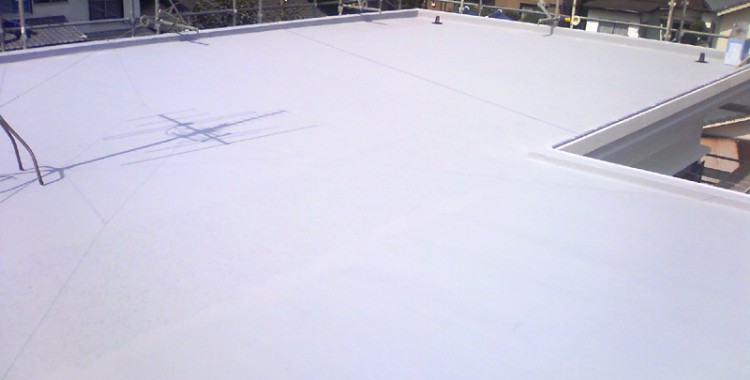 屋上防水の施工例 福岡市城南区 Y様邸
