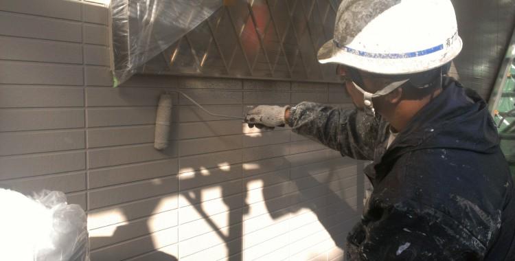 外壁塗装 屋根塗装 糸島市賃貸アパート 平成26年1月27日