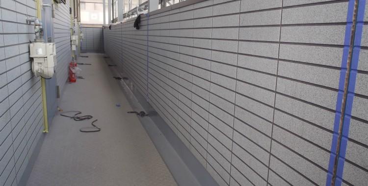 外壁塗装 屋根塗装 糸島市賃貸アパート 平成26年1月11日