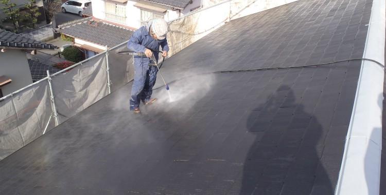 外壁塗装 屋根塗装 糸島市賃貸アパート 平成26年1月16日