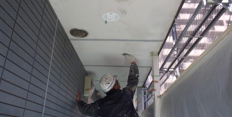 外壁塗装 屋根塗装 糸島市賃貸アパート 平成26年1月23日