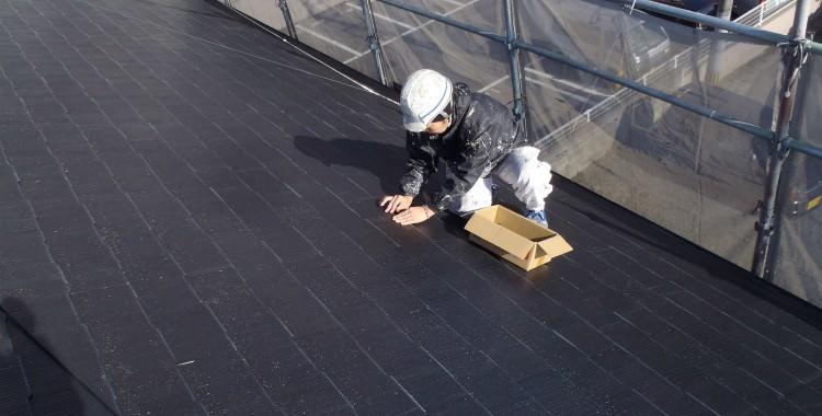 外壁塗装 屋根塗装 糸島市賃貸アパート 平成26年1月24日