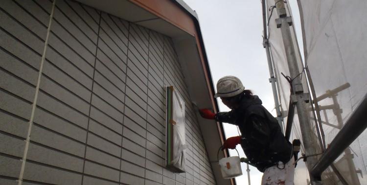 外壁塗装 屋根塗装 糸島市賃貸アパート 平成26年1月25日