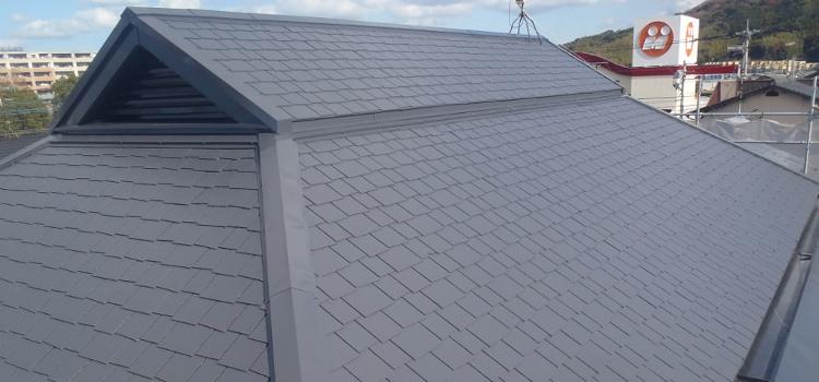 屋根塗装の施工例 福岡市西区 H様邸