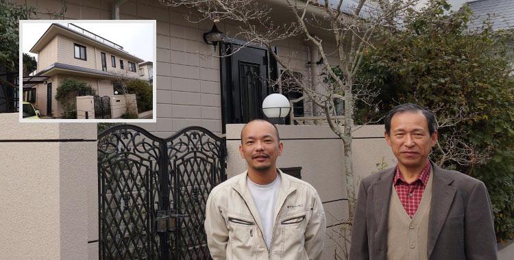 外壁塗装 福岡市西区 福田 博人 様