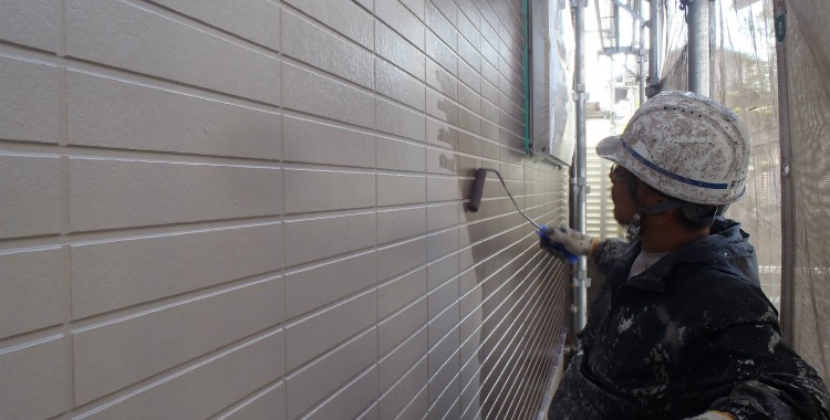 外壁塗装 屋根塗装 糸島市賃貸アパート 平成26年1月31日