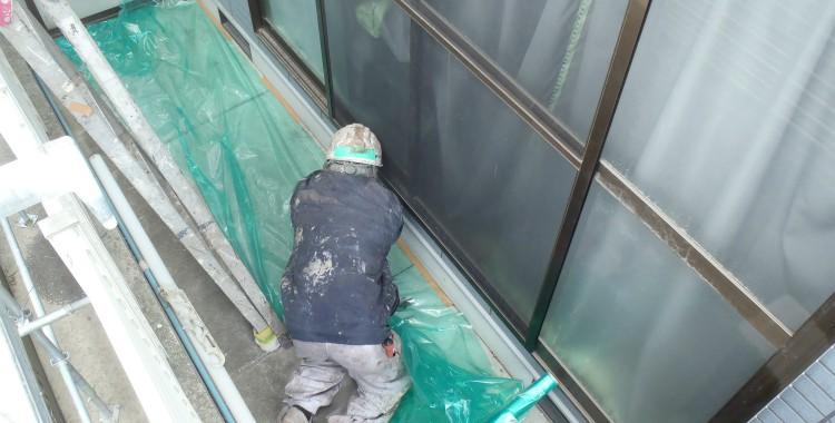 外壁塗装 屋根塗装 糸島市賃貸アパート 平成26年2月4日