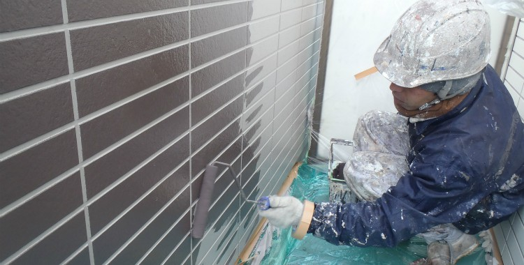 外壁塗装 屋根塗装 糸島市賃貸アパート 平成26年2月10日