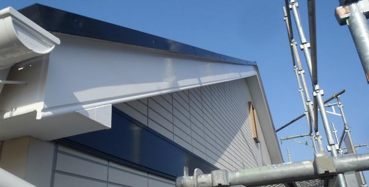 外壁塗装 屋根塗装 糸島市賃貸アパート 平成26年2月14.15.16日