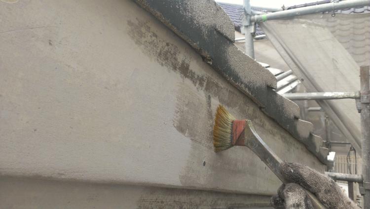 S様邸 破風板塗装