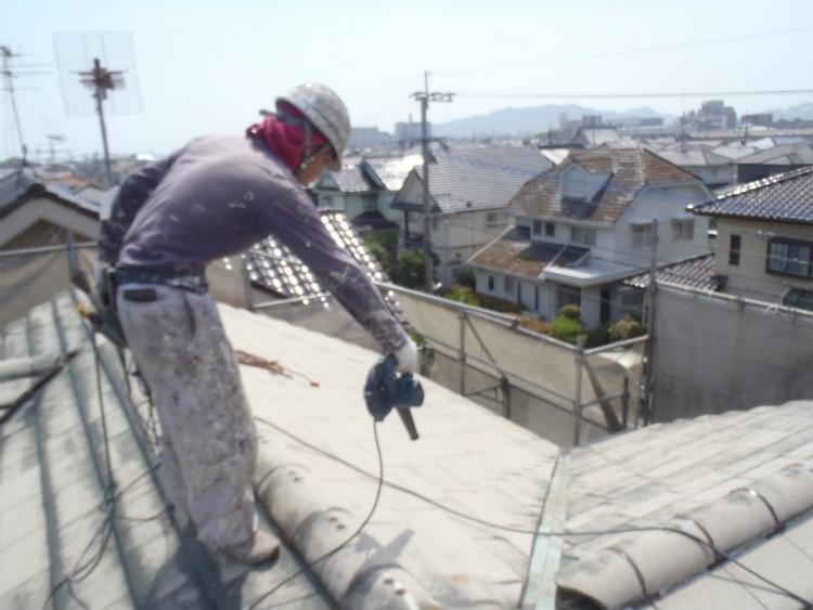 S様邸 屋根塗装
