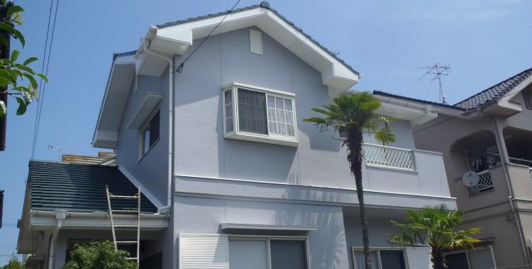 外壁塗装・屋根塗装 福岡市西区S様 工事日誌