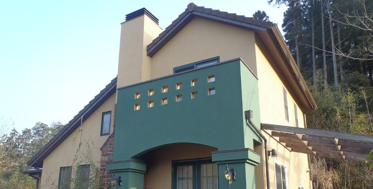 外壁塗装の施工例 佐賀市三瀬 Y様