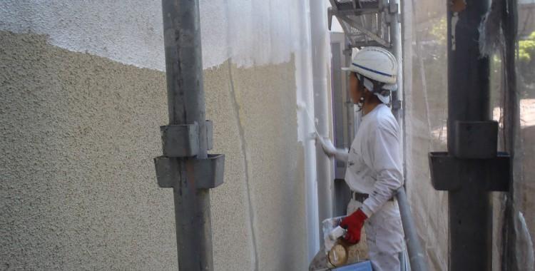 外壁塗装・屋根塗装 福岡市中央区M様 工事日誌