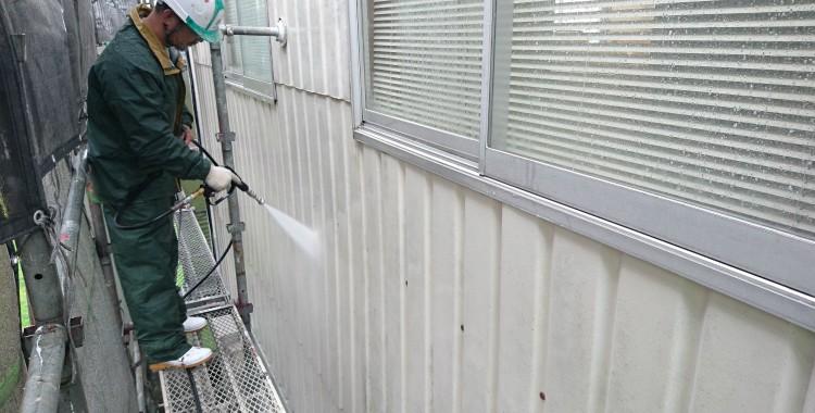 外壁塗装 福岡市西区B社工場 工事記録